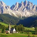 Landscape Development in the Alps